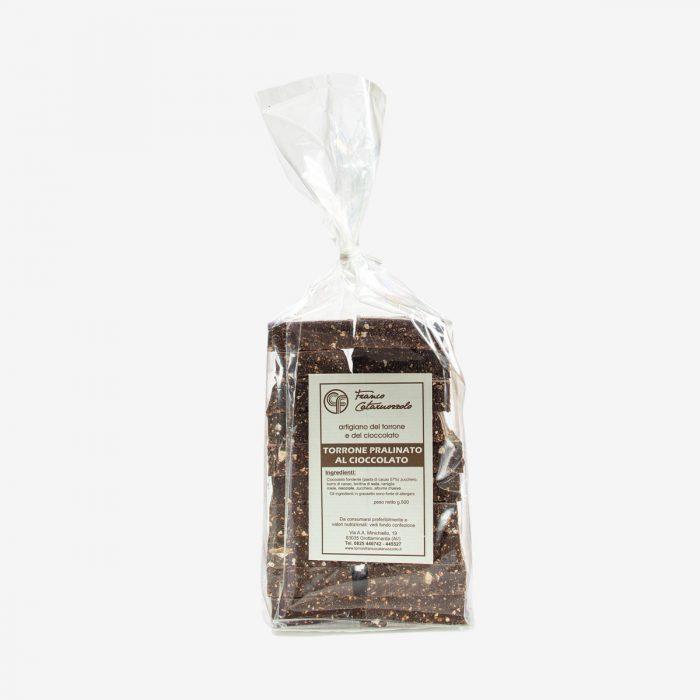 Torrone pralinato al cioccolato - Torroni Franco Cataruozzolo